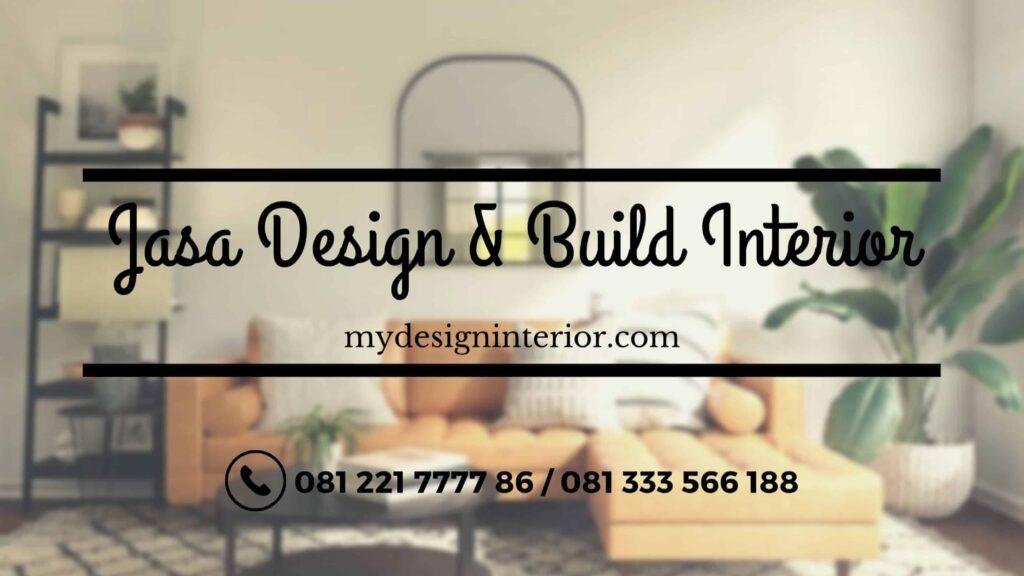 Jasa Design & Build Interior Tangerang