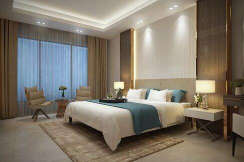 Terlihat Sederhana dan Mewah! 6 Tips Desain Interior Kamar Tidur Hotel Minimalis