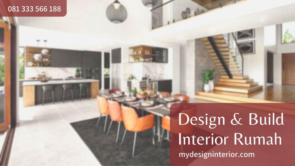 Jasa Design & Build Interior Rumah untuk Wilayah BSD Tangerang dan Sekitarnya