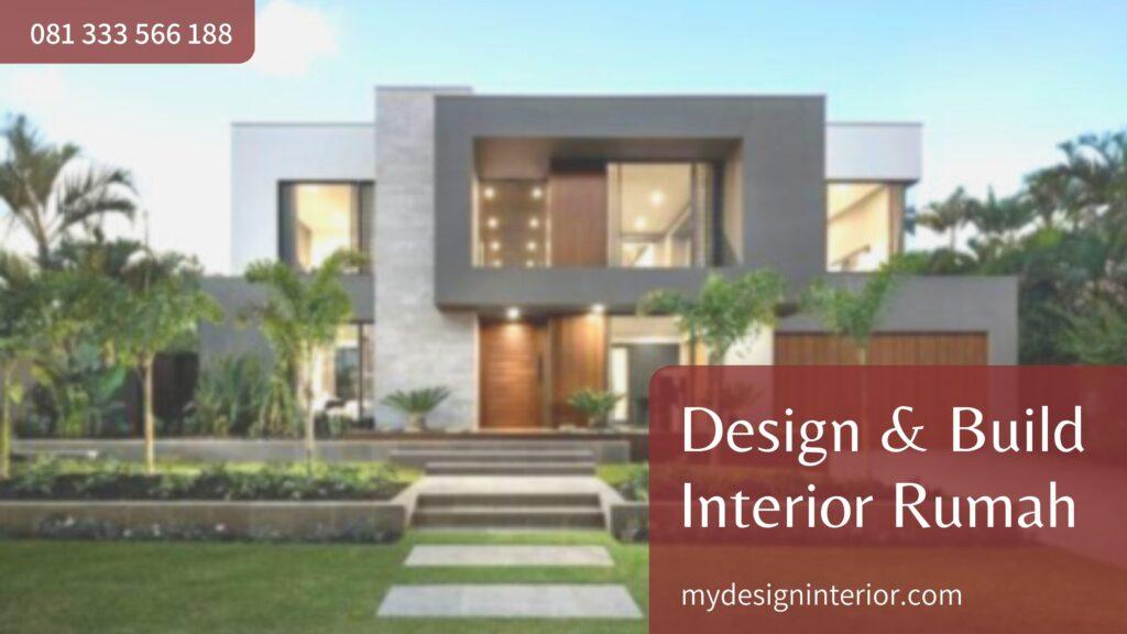 Jasa Design & Build Interior Rumah untuk Wilayah Tangerang Selatan dan Sekitarnya