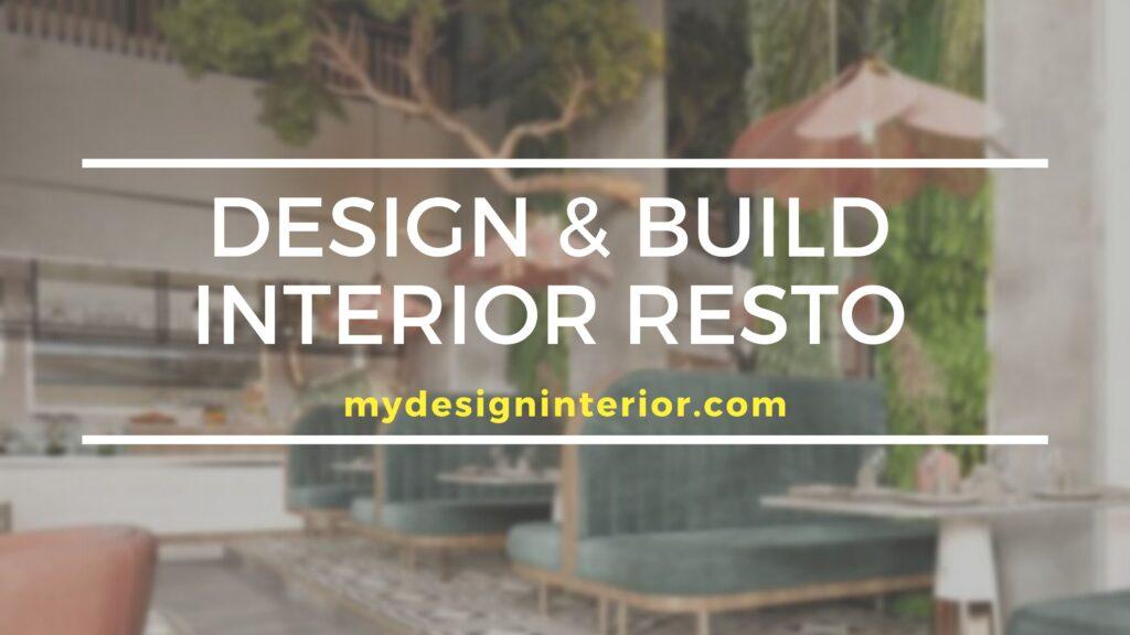 Jasa Design & Build Interior Resto untuk Wilayah Tangerang dan Sekitarnya